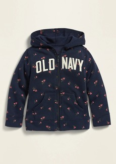 Old Navy Unisex Logo-Graphic Zip Hoodie for Toddler