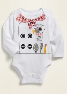 Old Navy Unisex Long-Sleeve Graphic Bodysuit for Baby