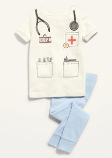 Old Navy Unisex Nurse Costume Pajama Set for Toddler & Baby