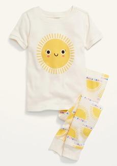 Old Navy Unisex Printed Pajama Set for Toddler & Baby