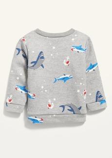 Old Navy Unisex Valentine-Print Crew-Neck Sweatshirt for Baby