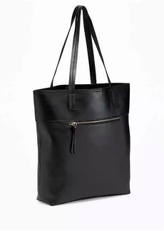 Old Navy Unstructured Faux-Leather Tote for Women
