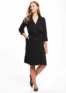 Utility Shirt Dress for Women