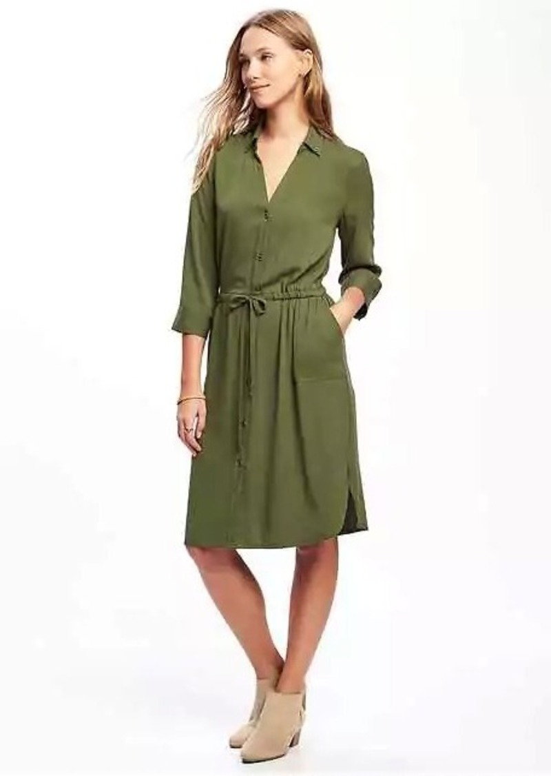 Old Navy Utility Shirt Dress for Women