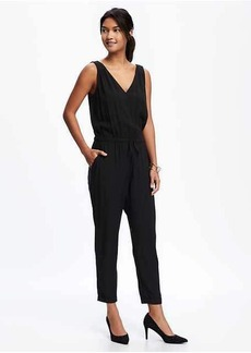 V-Neck Jumpsuit for Women