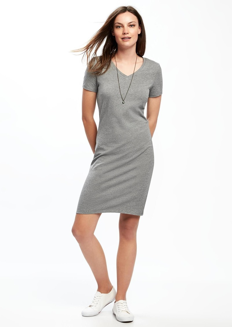 b2f9cc936f4 On Sale today! Old Navy V-Neck Tee Dress for Women