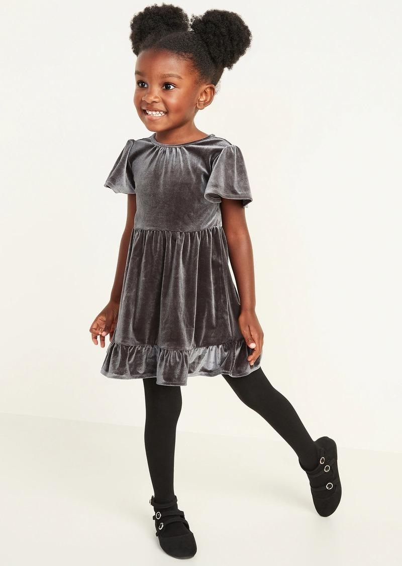 Old Navy Velvet Fit & Flare Dress for Toddler Girls