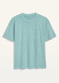 Old Navy Vintage Garment-Dyed Pocket Gender-Neutral Tee for Adults
