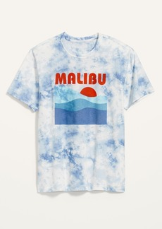 Old Navy Vintage Tie-Dye Gender-Neutral Graphic Tee for Adults