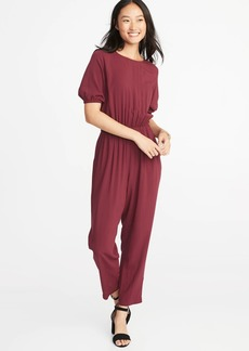 Old Navy Waist-Defined Balloon-Sleeve Jumpsuit for Women