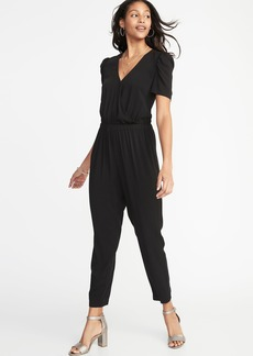 Old Navy Waist-Defined Jumpsuit for Women
