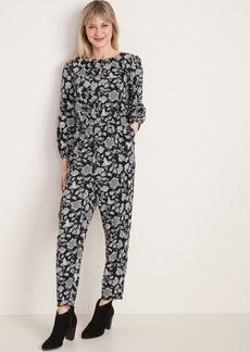 Old Navy Waist-Defined Keyhole Jumpsuit for Women