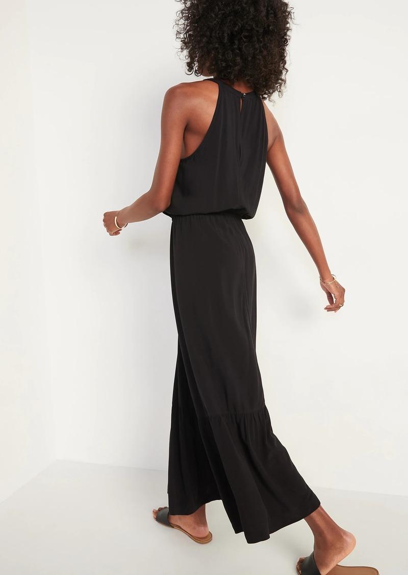 Old Navy Waist-Defined Sleeveless Maxi Dress for Women