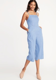 d58d2a68566e Old Navy Waist-Defined Square-Neck Cami Jumpsuit for Women