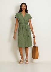Old Navy Waist-Defined Tie-Belt Shirt Dress for Women