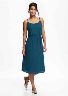 Waisted Cami Midi Dress for Women