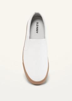 Old Navy Water-Repellent Canvas Slip-On Sneakers for Men