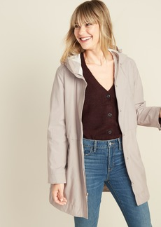 Old Navy Water-Resistant Hooded Anorak for Women