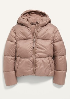 Old Navy Wind-Resistant Frost-Free Puffer Jacket for Girls