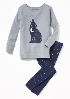 Old Navy Wolf-Graphic Sleep Set for Toddler Boys & Baby