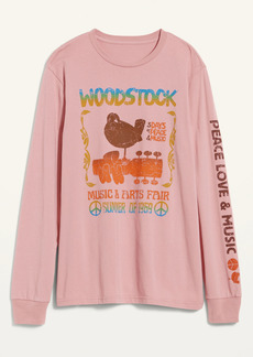 Old Navy Woodstock&#174 Gender-Neutral Graphic Long-Sleeve Tee for Adults