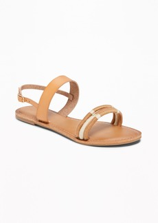 Old Navy Wrapped-Thread Slingback Sandals for Women