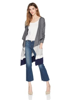 Olive & Oak Women's Alijah Draped Colorblock Cardigan