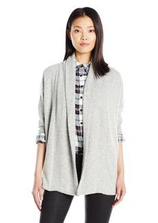Olive & Oak Women's Brushed Hacci Open Cardigan Sweater