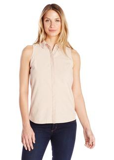 Olive & Oak Women's Button Back Sleeveless Shirt