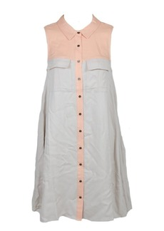 Olive & Oak Women's Color Block Shirt Dress