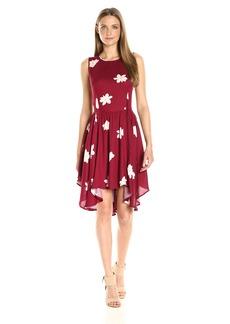 Olive & Oak Women's Flowers Swing Dress