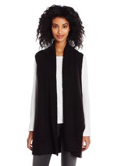 Olive & Oak Women's Fuzzy Open Cardi Vest