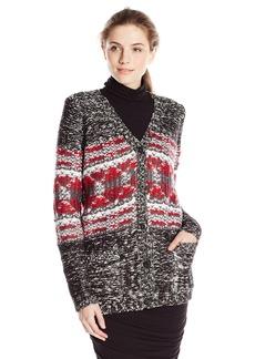 Olive & Oak Women's Grandpa Chunky Cardigan Sweater