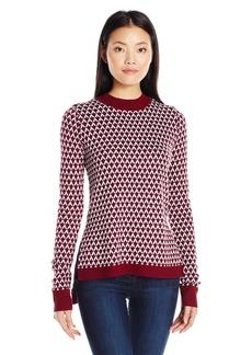 Olive & Oak Women's Jacquard Pullover Sweater