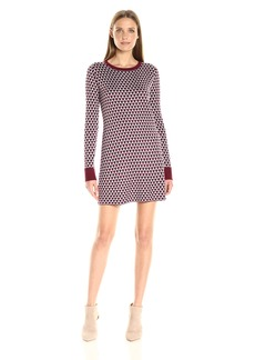 Olive & Oak Women's Jacquard Sweater Dress