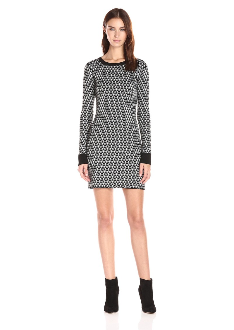 Olive & Oak Women's Jacquard Sweater Dress