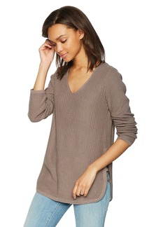 Olive & Oak Women's Kimmie Side Lace up Sweater