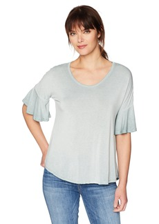 Olive & Oak Women's Kristine Bell Sleeve Top