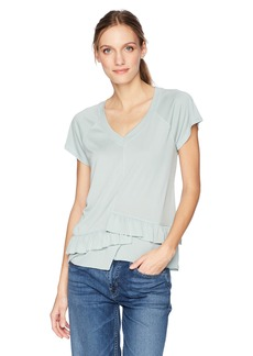Olive & Oak Women's Magnolia Ruffle Sleeve Top