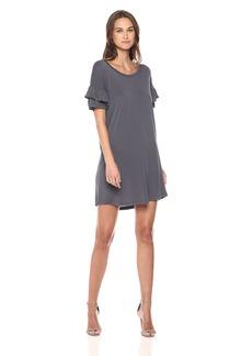 Olive & Oak Women's Marlin Ruffle Sleeve Dress