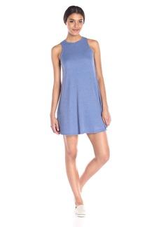 Olive & Oak Women's Ribbed Swing Mini Dress
