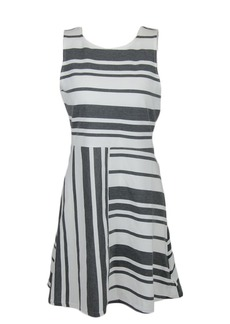 Olive & Oak Women's Striped Midi Dress