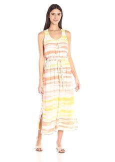 Olive & Oak Women's Tie-Dye Maxi Dress with Drawstring