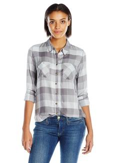 Olive & Oak Women's Tonal Plaid Shirt
