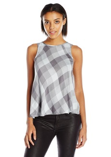 Olive & Oak Women's Tonal Plaid Tank