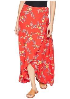 Olive & Oak Pippa Wrap Skirt
