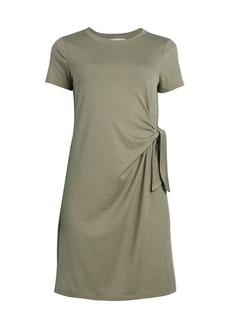 Olive & Oak Tie-Side T-Shirt Dress