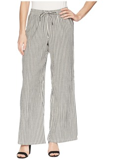 Olive & Oak Wide Leg Striped Palazzo Pants