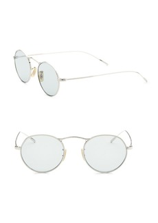Oliver Peoples 47MM Round Sunglasses