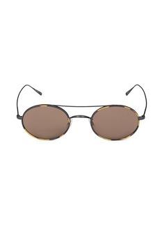 Oliver Peoples 48MM Aviator Sunglasses